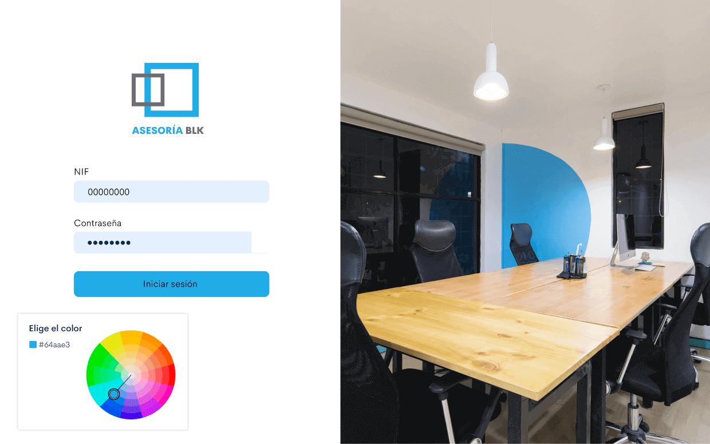 Con Bilky podrás ofrecer un portal asesor totalmente personalizado con la imagen de tu marca.